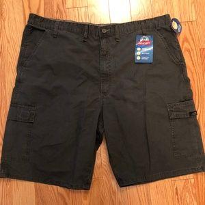 Wrangler Mens Cargo Shorts Waist 44 Dark Gray 124